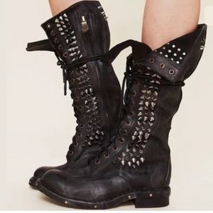 Jeffrey Campbell Studded Seattle Love Boots Motto